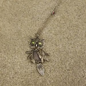 Lucky brand owl pendent necklace.